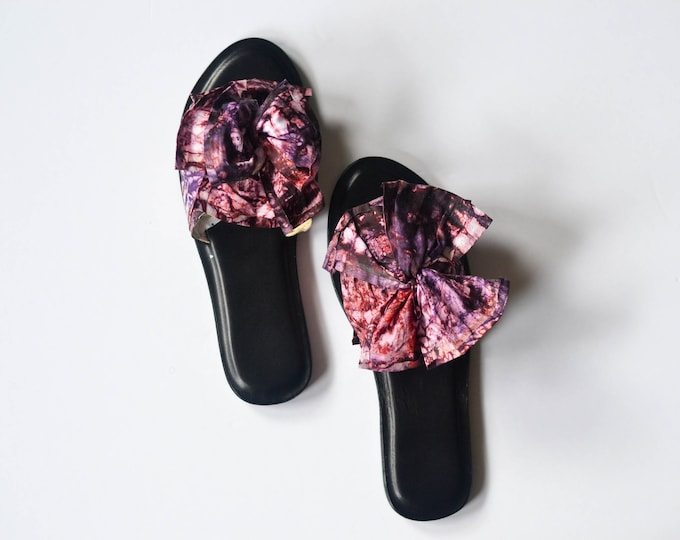 Purple Cosmos Sandals