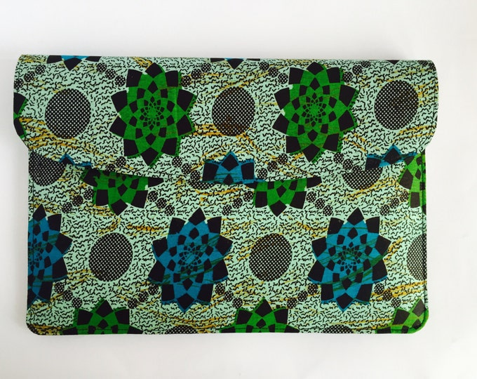 "15"" Ankara Wheel Laptop Sleeve"