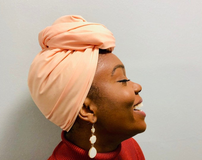 Cream // Solid Head Wrap