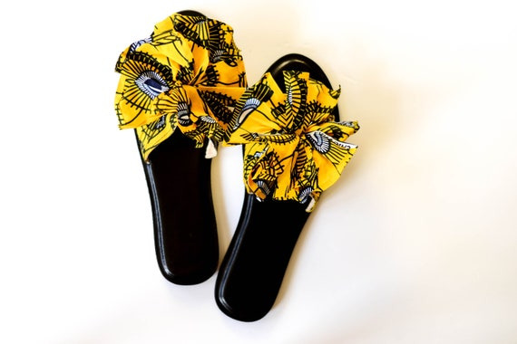 Yellow Parasol Sandals