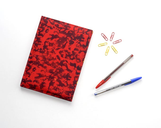 Red Haze Notebook