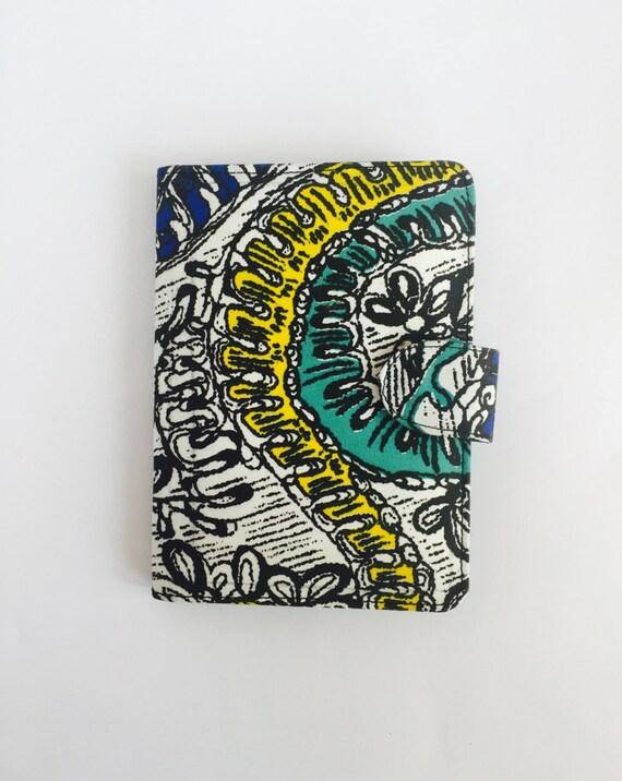 "8"" Ankara Doodle Tablet Case // Notepad Holder & Cover"