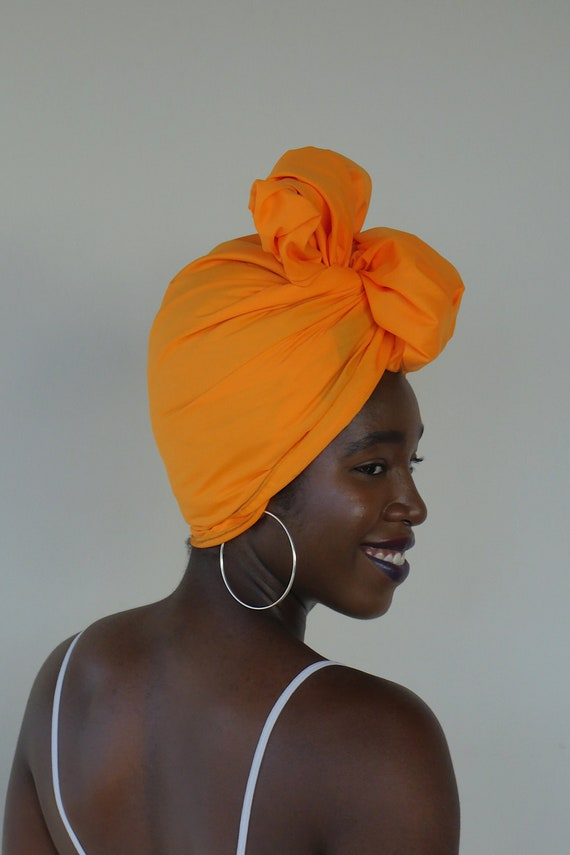 Clementine // Solid Head Wrap