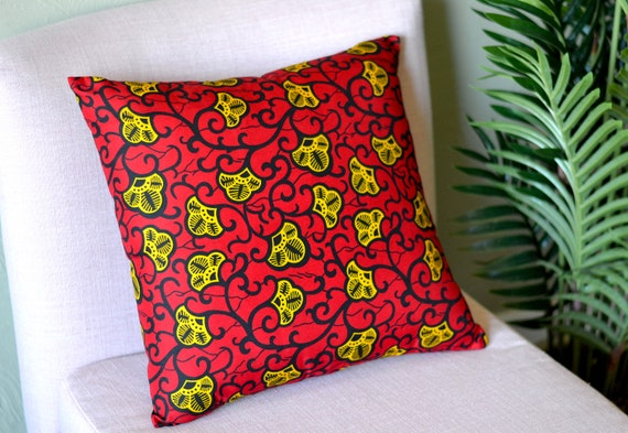 Festival // Ankara Throw Pillow Cover
