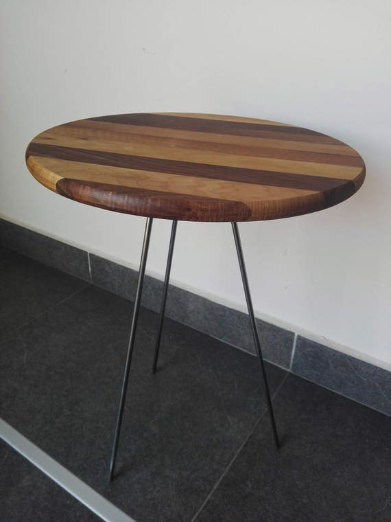 Side Table 40 Euro.Free Shipping Walnut Coffee Table Side Table2