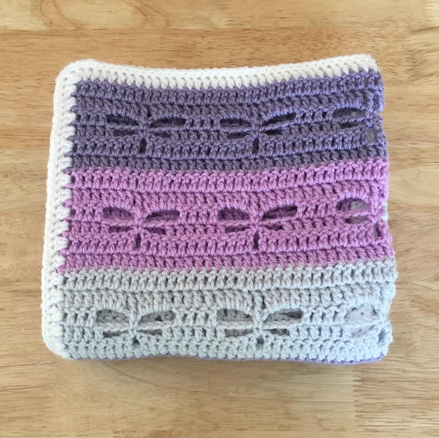 Dragonfly Crochet Baby Blanket Baby Blanket Crochet Baby Etsy