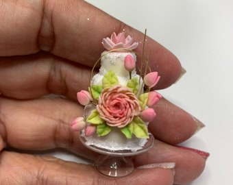 Miniature Cake - 1 inch scale