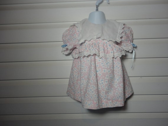 Vintage dress, Paper Doll, 18 months, Easter Dress