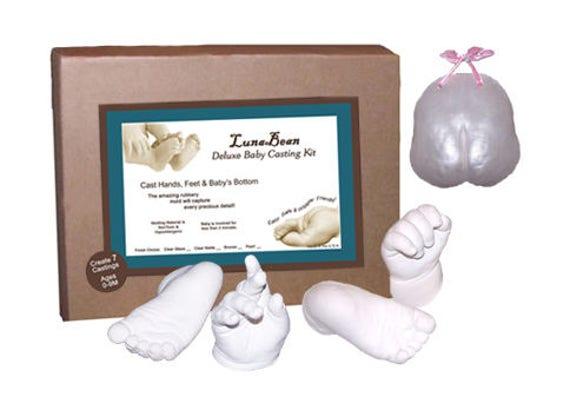 Luna Bean INFANT Plaster Casting Kit 0-9 Months