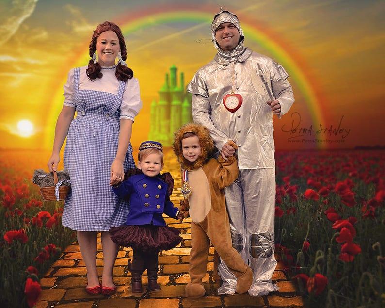 Digital Backdrops, Wizard of Oz, Yellow Brick Road, Digital Background,  80th Anniversary, Fall Digital Backdrops, Photoshop, Emerald City