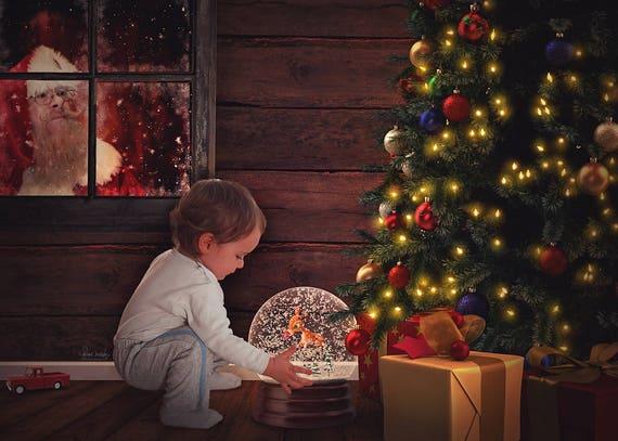 Navidad Reno Rudolph Pared Calcomanía De Vinilo Pegatina de ventana Decoración Navidad-XL