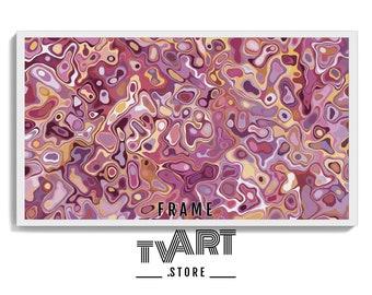 Samsung TV Frame Art Instant Digital Download Abstract Oil Painting Samsung Frame Tv Art 4K Frame Tv Art Abstract Painting #VhAg9