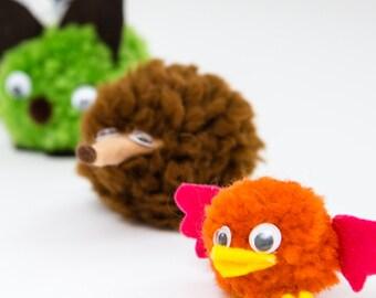Pom-Pom Critter Kit