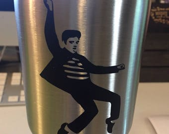 Elvis Decal | Elvis Cup Decal | Jailhouse Rock Decal | Elvis Presley