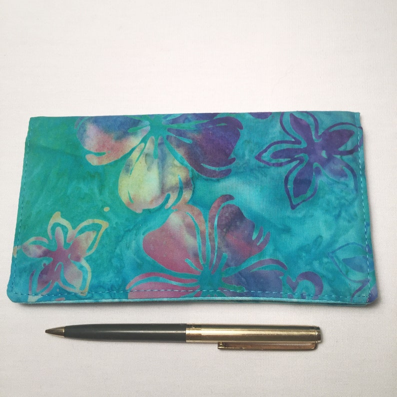 Abstract 2 Design Art Checkbook Cover