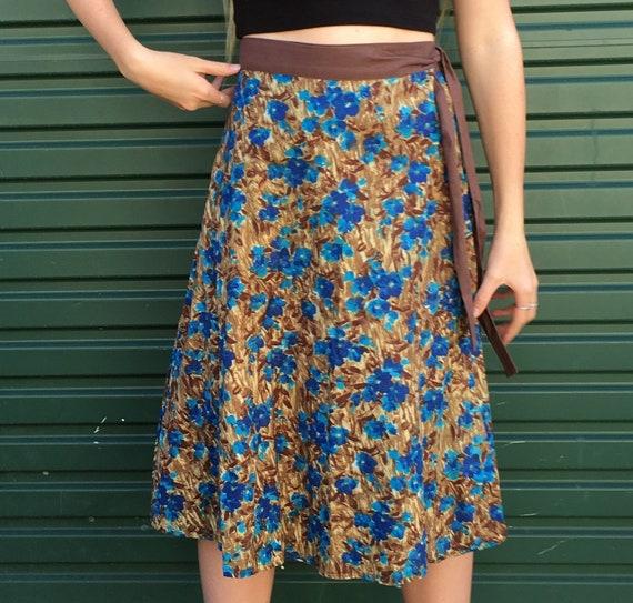 1970's Wrap Skirt