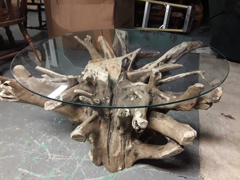 Ordinaire Amazing Centerpiece Tree Root Coffee Table