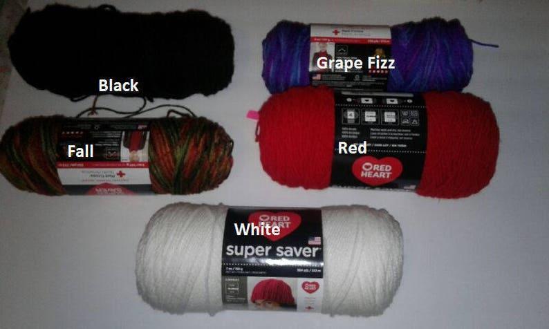 CUSTOM 20-22 inch yarn tails