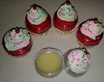 "Strawberry Kiwi ""cupcake"" Lipgloss"