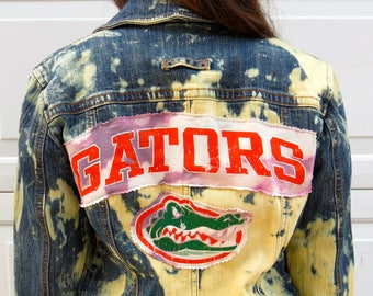 College Jean Jacket (University of Florida)