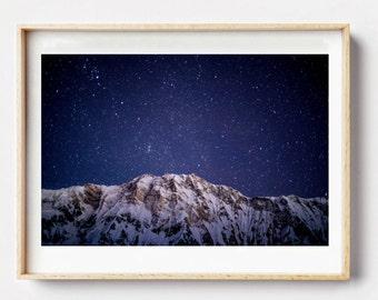 Mountain Photography Print - Photographic Art, Mountain Art Print, Wall Art, Photographic Print, Mountain Art Print, Photo Print, Mountains