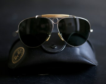 47fffb924a Sunglasses RAY - BAN Bausch Lomb aviator with original case Collector