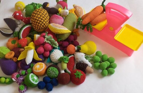 TomToy : Crochet veggies v2 | 369x570