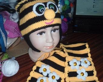 Newborn Bee Hat