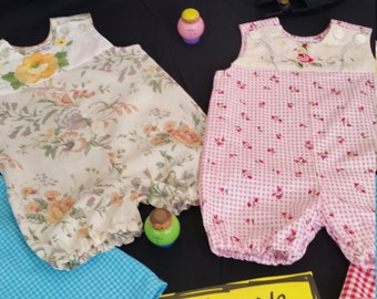 Boho Rompers. Size 18mths to 2 years. Price per each garment.