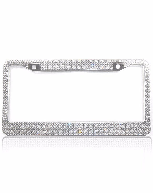 Crystal License Plate Frame Car Accessories for Women Bling | Etsy