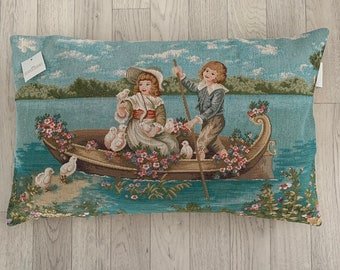 Vintage Tapestry Rectangle Cushion Cover - High Quality - Satisfaction Guarantee - SALE