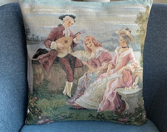 """Vintage Tapestry 17"""" Cushion Cover - High Quality - Satisfaction Guarantee - SALE"""