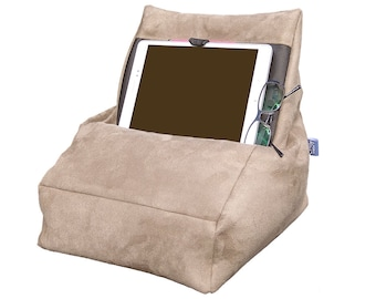 Comfortable ', the Tablet holder - Brown pillow