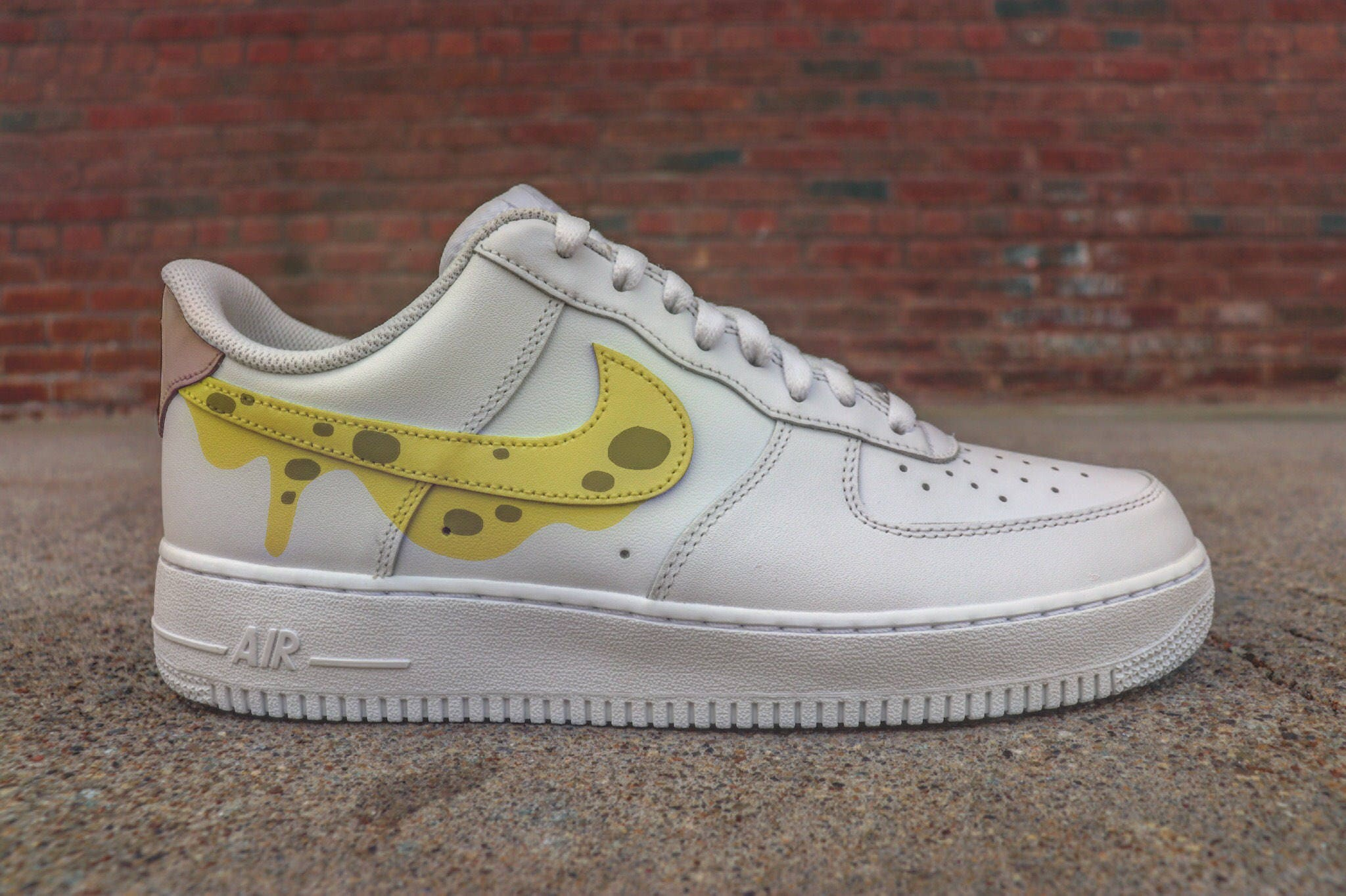 buy online f4eb3 151b5 ... official store sponge bob nike air force 1 custom plus vab bikini  bottom etsy 29aeb 309b7 ...
