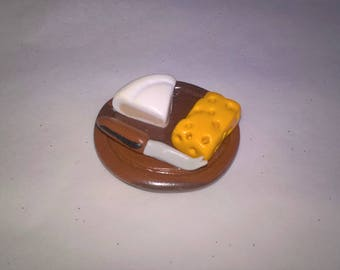 Brie and Emmental Board magnet