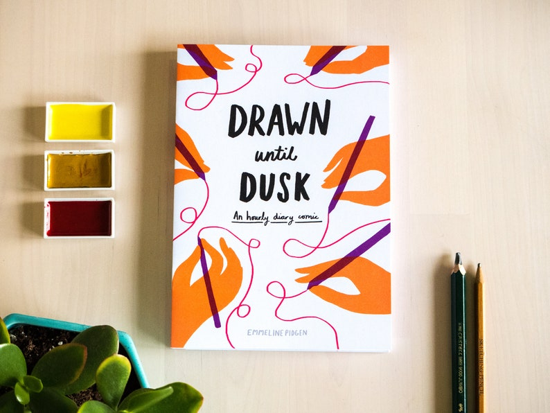 Illustrated Diary Small Press Comic 'Drawn Until Dusk' image 0