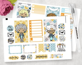 Weekly Stickers Kit