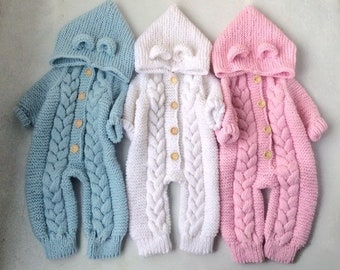 Teddy Bear Baby Romper