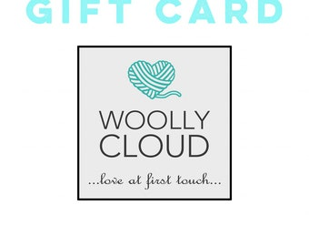 Woolly Cloud/Woolly Cloud Couture GIFT CERTIFICATE.