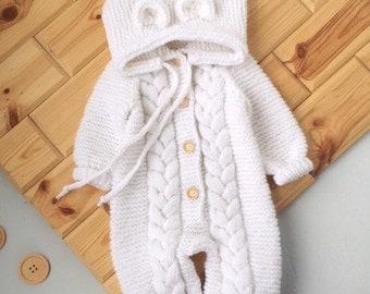 Teddy Bear Baby Romper