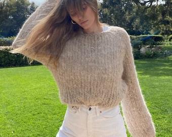 Cloud9 Sweater. Handmade in NYC.