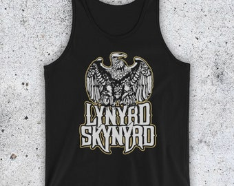 c8396ee4443a8c Inspired By Lynyrd Skynyrd Free Bird American Rock Band Unofficial Unisex Tank  Top Vest