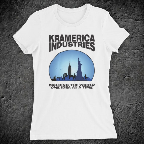 efd82ce2dc32 Inspired By Seinfeld Kramerica Industries Classic Comedy TV Show Cosmo  Kramer Jerry Unofficial Womens T Shirt