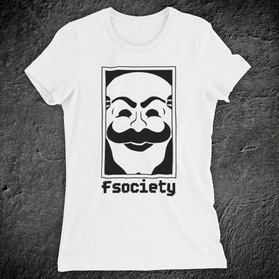 b100512c8172 Inspired By Mr Robot Fsociety Logo American Drama Thriller