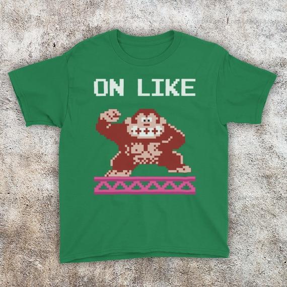 Kids On Like Donkey Kong T-shirt 1-13 years, many colours