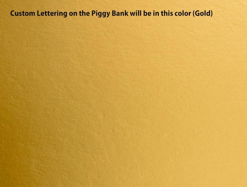Gold Princess Bank girl birthday gift baby girl shower gift Personalized Piggy Bank TuTu Piggy Bank baptism gift Customized Bank