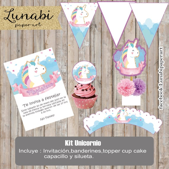 Items Similar To Printable Kit Of Unicorn Glitter Glitter