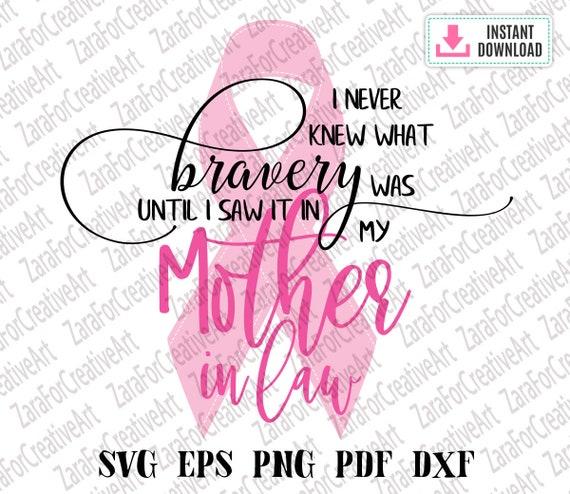Breast Cancer Svg Breast Cancer Awareness Svg Pink Svg Breast Etsy