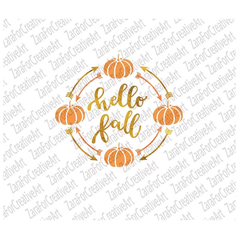 Hello fall svg Pumpkin svg Hello Fall Pumpkin Cut File svg Hello fall arrow  Pumpkin clipart fall svg pumpkin arrow svg, Thanksgiving svg