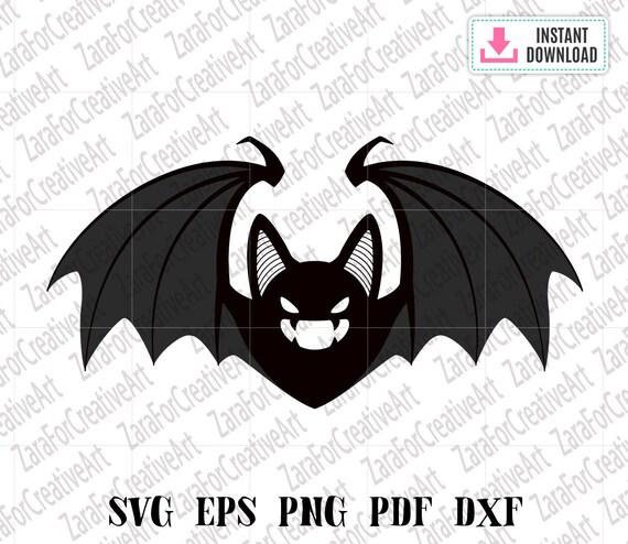 Halloween Svg Svg Files For Cricut Bat Svg Bat Halloween Svg Etsy